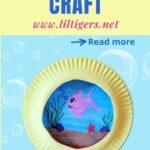 Yellow Paper Plate Submarine Craft - DIY Under The Sea Craft Idea