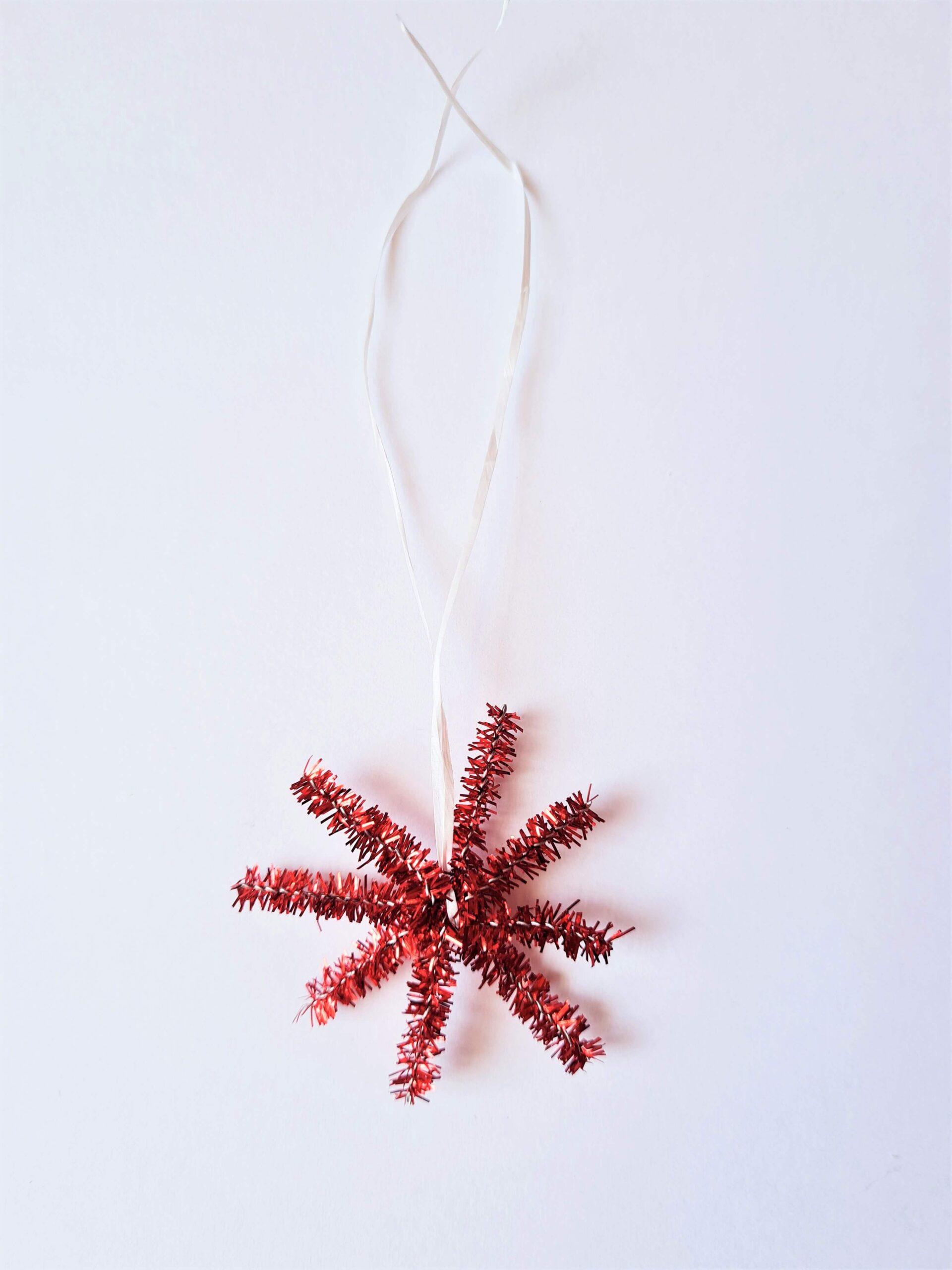 Borax crystal ornament