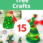15 Easy Christmas Tree Crafts for Kids