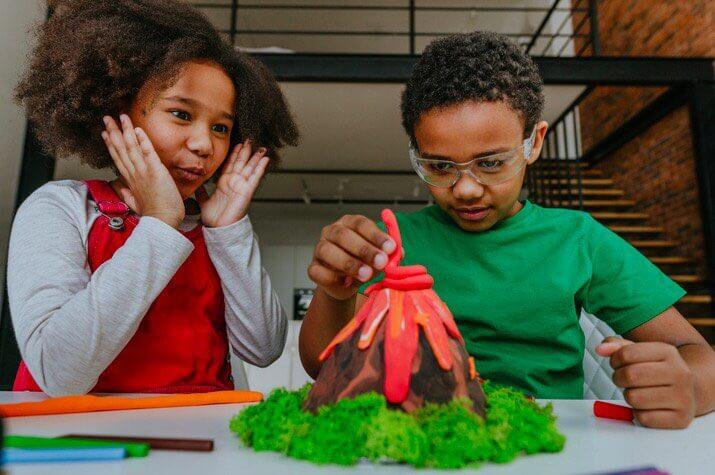 STEM Education Volcano Project