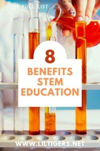 Top 8 Benefits of STEM Education