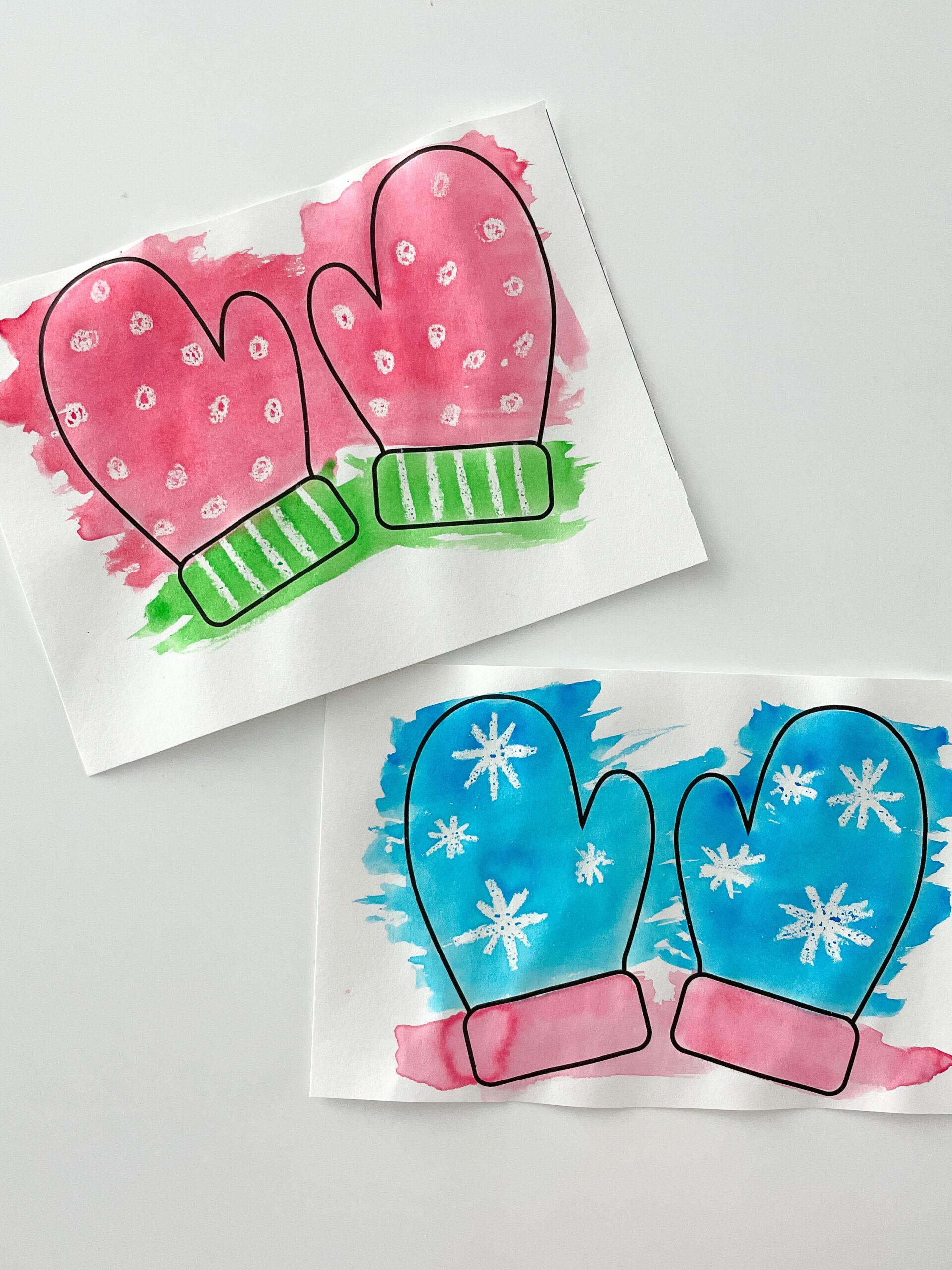 mittens printable